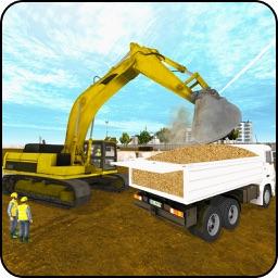 Real Excavator City Builder Game 3D