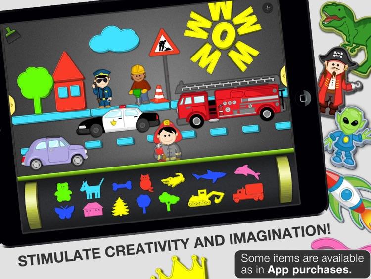 ABC - Magnetic Alphabet Lite for Kids screenshot-3