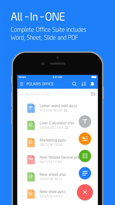 Polaris Office - Docs, PDF Reader & Editor app image