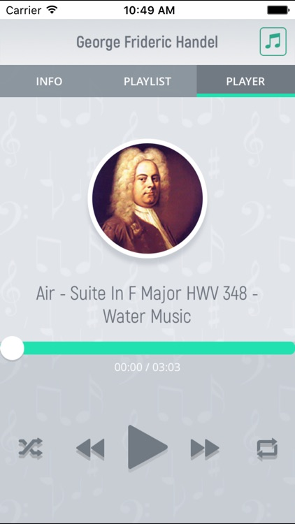 George Handel - Classical Music Full screenshot-3