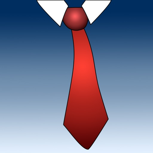 vTie Premium - tie a tie guide with style for occasions like a business meeting, interview, wedding, party