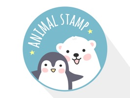 Animal stamps sticker pack