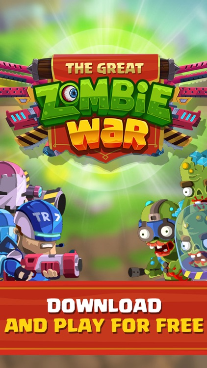 Great Zombie War - The Undead Carnage Army Attack screenshot-4
