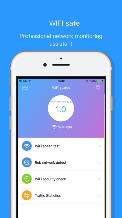 WIFI Analytics Pro - Speed Test & Network Monitor screenshot-0