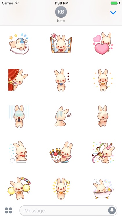Bunny Lola stickers pack screenshot-2