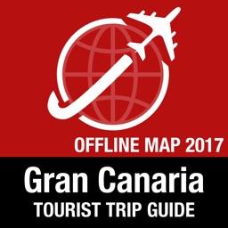 Gran Canaria Tourist Guide + Offline Map