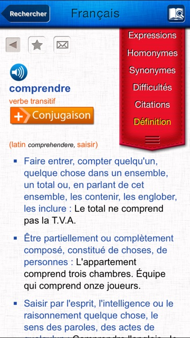 French Dictionary review screenshots