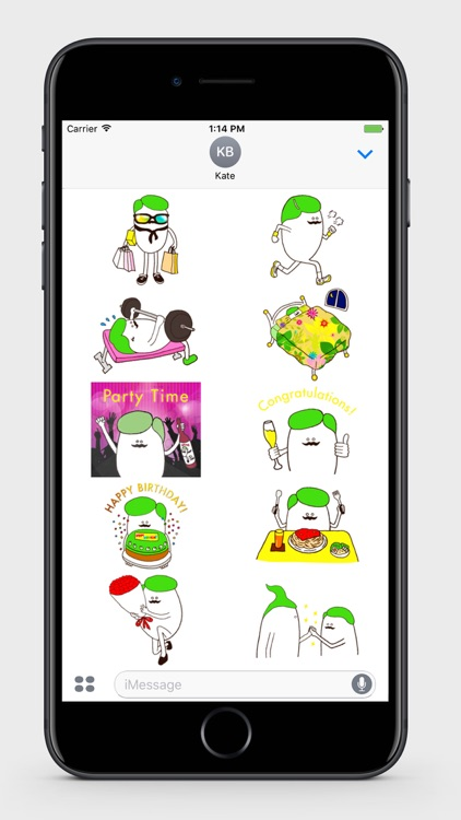 Funny Egg Stickers screenshot-2