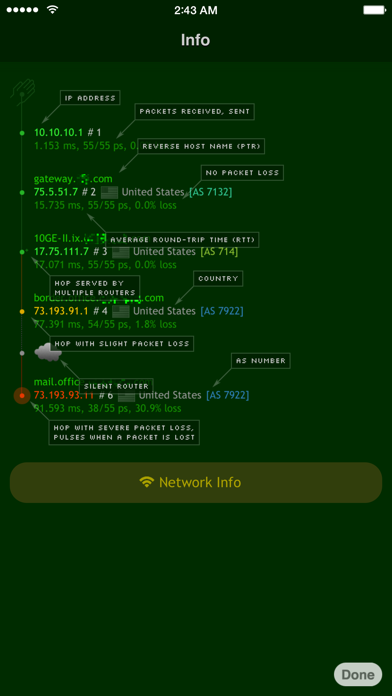 Nice Trace - Traceroute ScreenShot4
