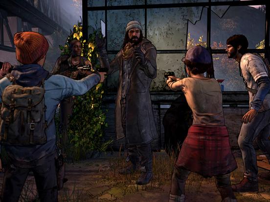 Ipad Screen Shot The Walking Dead: A New Frontier 3