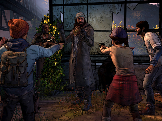 ‎The Walking Dead: A New Frontier Screenshot