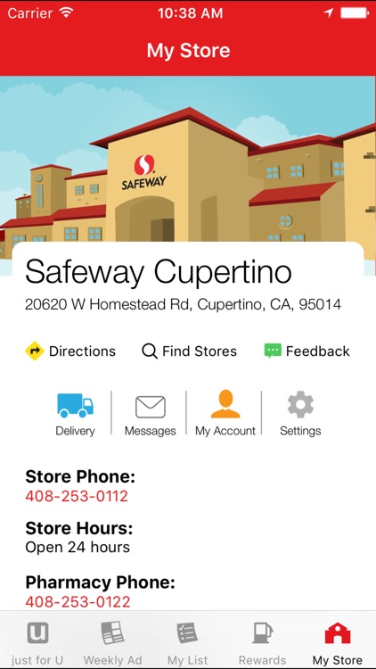 Safeway screenshot-4