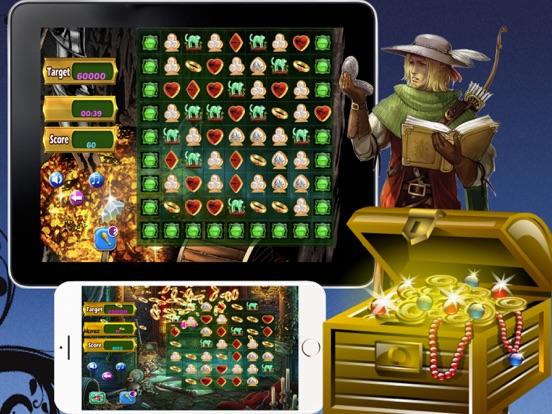Mystery Of Hallow - Jewel Treasure Match screenshot 5