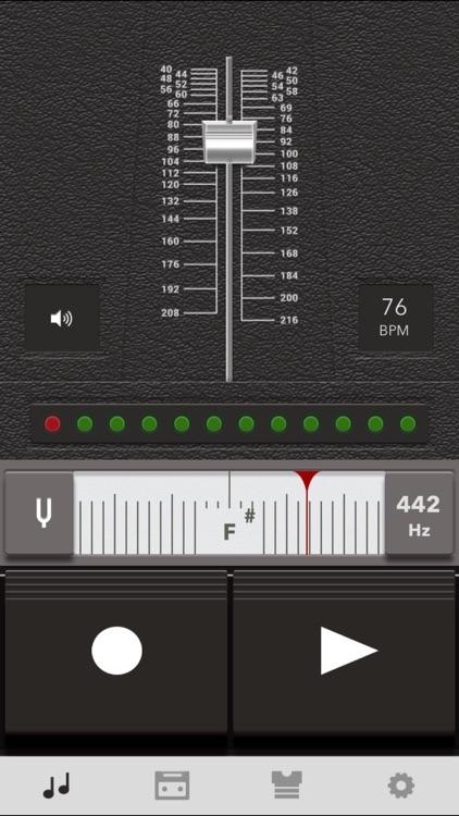 Music Practice Tool - Metronome, Tuner, Recorder screenshot-4