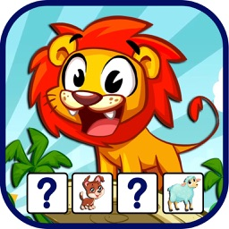 Animal Match Puzzle -Animal Games For Kids