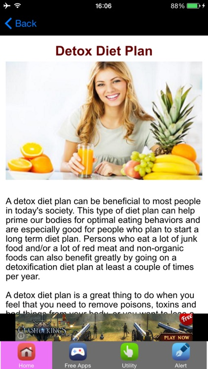 Detox Diet Plan & Detox Diet Recipes screenshot-0