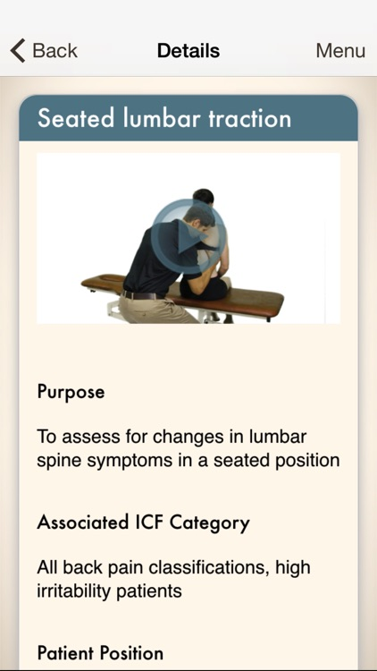 Clinical Pattern Recognition: Low back pain screenshot-4