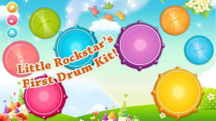 Babies Drums Kit - Music Game With Nursery Rhymes