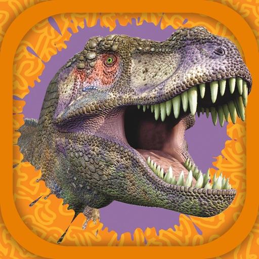 3D Turutu Animated Stickers: Dinosaurs