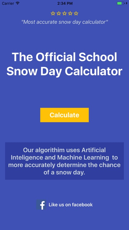 Snow Day Calculator Pro