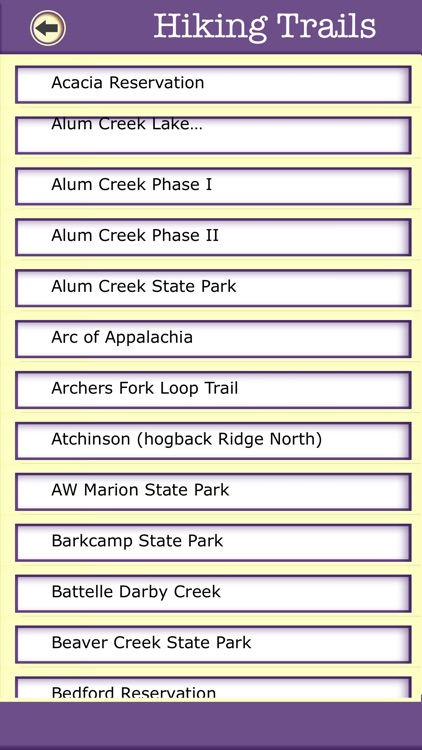 Ohio Campgrounds & Hiking Trails,State Parks screenshot-3
