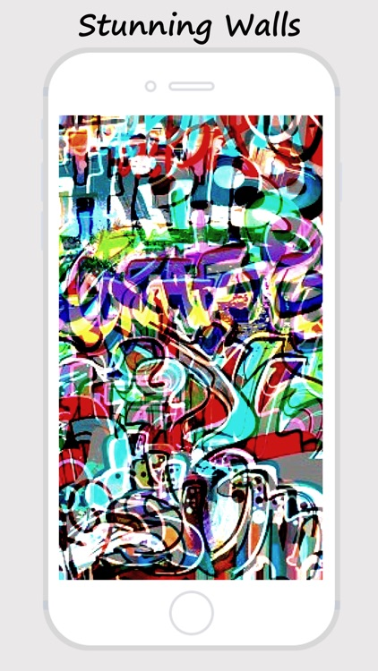 Graffiti Walls -Custom Home/Lock Screen Wallpapers