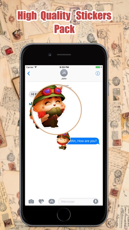 Traveler Cat Stickers Pack for iMessage screenshot-3
