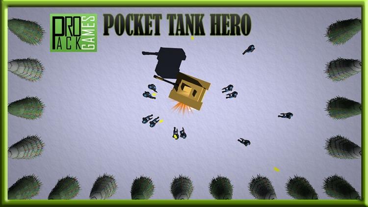 Pocket Tank Hero Lite : Bomb army in this battle screenshot-4