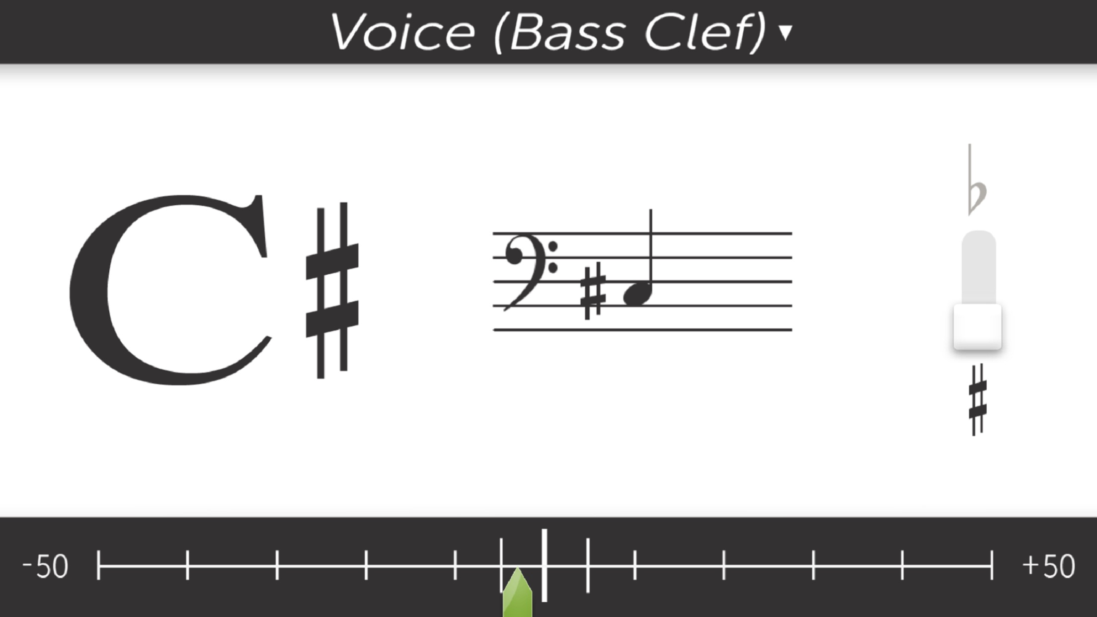 Bandmate Chromatic Tuner Screenshot