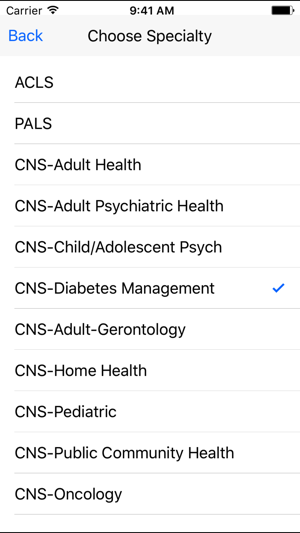 Clinical Nurse Specialist Certification Reviews on the App Store