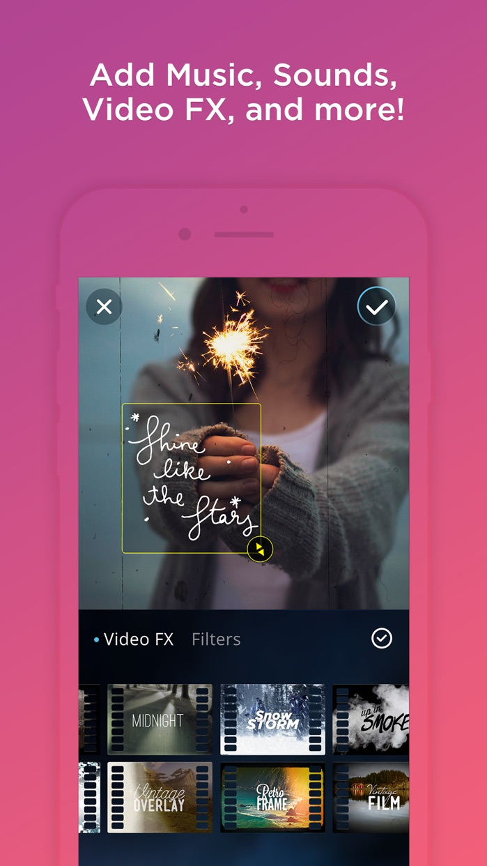 VidLab - Video Editor, Movie Maker & Collages Screenshot