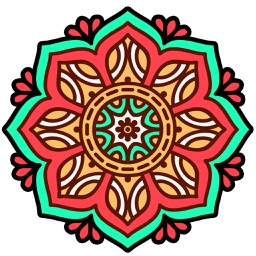 Mandala Coloring calm art therapy book for adults