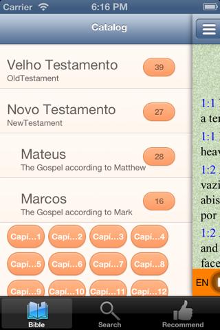 Português Englês bilíngüe áudio santa bíblia - náhled