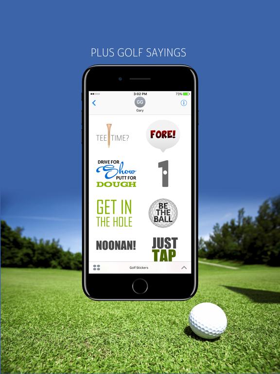 Golf Emojis screenshot 6