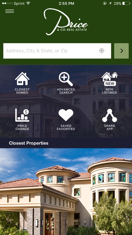Price & Co Home Search