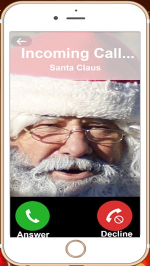 Free phone call from santa greeting from santa on the app store screenshots m4hsunfo