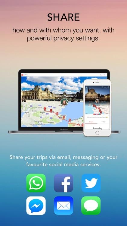 Esplorio - Travel journal, diary, blog screenshot-4