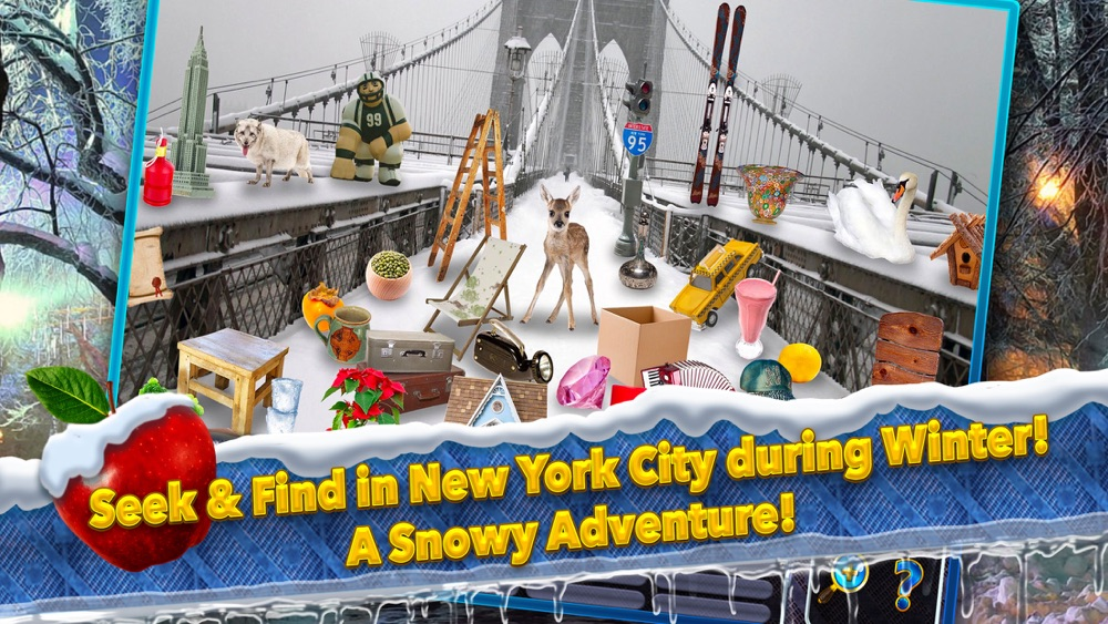 Hidden Objects New York City Winter Object Time hack tool