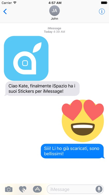 iSpazio Stickers screenshot-1