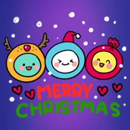 Brainwave: Merry Christmas − NHH Stickers