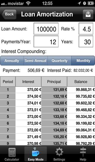 財務計算機 ScreenShot1