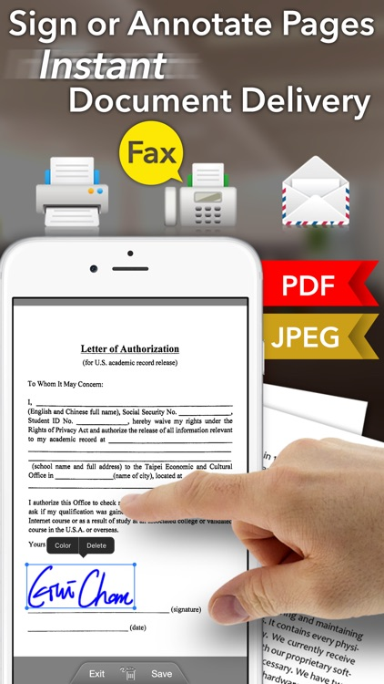 Faster Scan+ - PDF document scanner screenshot-3