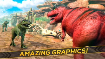Jurassic Run - The Dinosaur Racing Simulator Game Screenshot on iOS