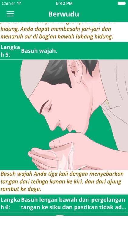 Quran dalam bahasa indonesia - Dengarkan dan baca screenshot-3