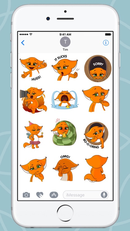 Squirrel Kroshka Shi New Stickers screenshot-4
