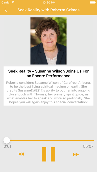 Seek Reality with Roberta Grimes screenshot three