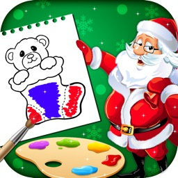 Xmas Coloring Book For Kids