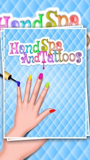 Meisje Van De Schoonheid Nail Art Design Salon In De App Store