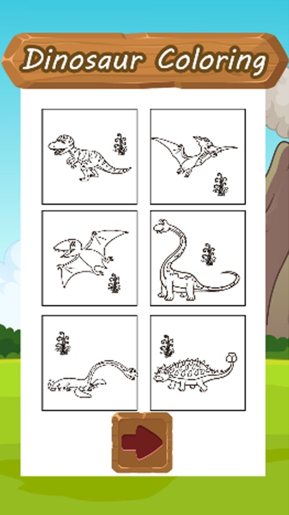 Dinosaur Coloring Kid Book