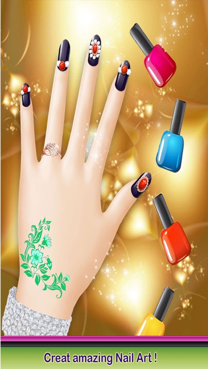 Christmas Nail Salon - Delicate Manicure Art Games screenshot-3